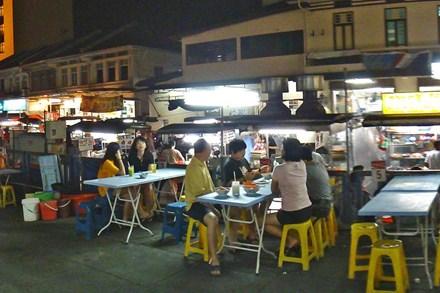 Ngất ngây quán vỉa hè ở Penang