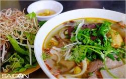 Tìm tô bún bò ngon nhất Sài Gòn