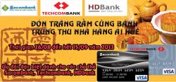 Ưu Đãi Lớn Dành Cho Các Chủ Thẻ Ssacombank, Techcombank, Hdbank