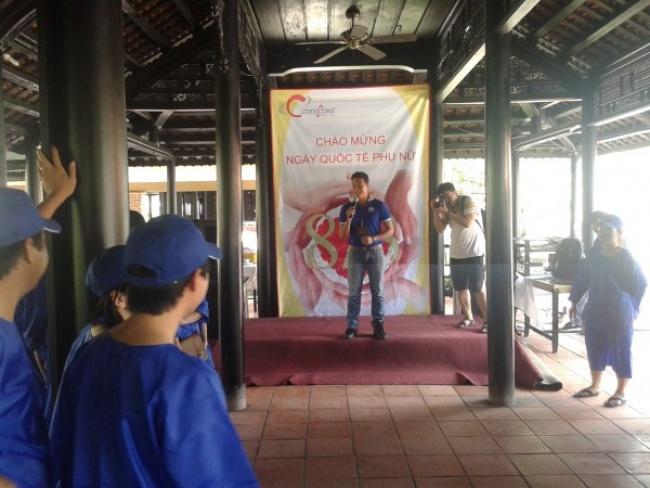 Công ty Cotec Cons dã ngoại Mekong 08/03/2014