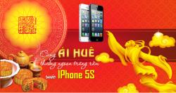 Cùng Ái Huê Thưởng Ngoạn Trăng Rằm, Rước Ngay Iphone 5S