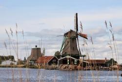 Zaanse Schans - Xứ sở cối xay gió thanh bình của Hà Lan