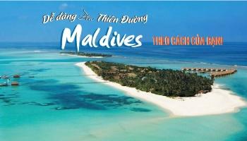 Du lịch Maldives theo phong cách riêng