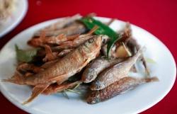Đến Mộc Châu thưởng thức cá suối món ăn dân dã