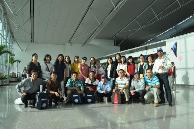 Agribank Tiền Giang khám phá xứ sở chùa vàng