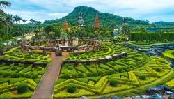 Du lịch Pattaya, Thái Lan khám phá khu vườn nhiệt đới Nong Nooch