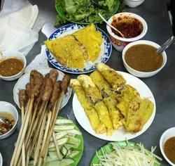 Thưởng thức bánh xèo hẻm nức tiếng ở Đà thành