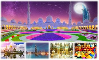 KHÁM PHÁ THÀNH PHỐ SANG TRỌNG TRONG SA MẠC - DUBAI - ABU DHABI