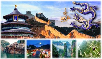 Du lịch Trung Quốc, Trương Gia Giới - Phượng Hoàng Cổ Trấn - Bắc Kinh - Vạn Lý Trường Thành