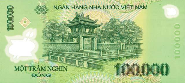 Tờ tiền 100000 đồng