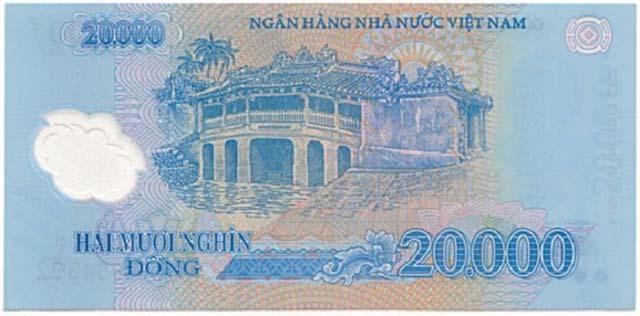 Tờ tiền 20000 đồng