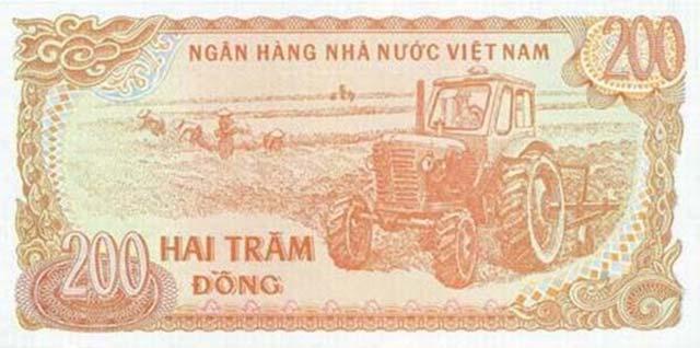 Tờ tiền 200 đồng