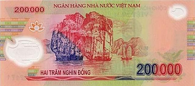 Tờ tiền 200000 đồng