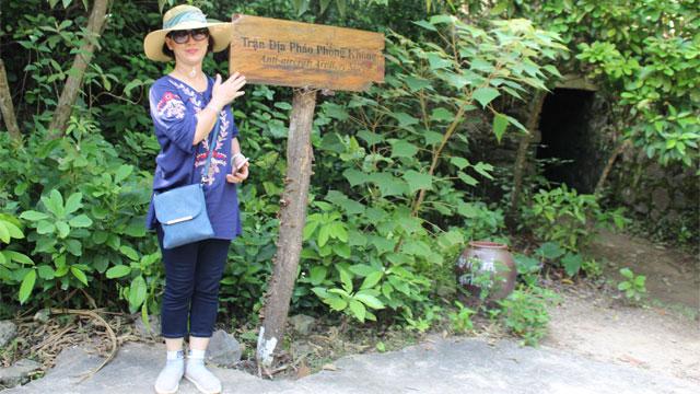 Trận địa pháo phòng không trên đảo Cát Bà - Lịch trình du lịch Đông Bắc cùng Cholontourist