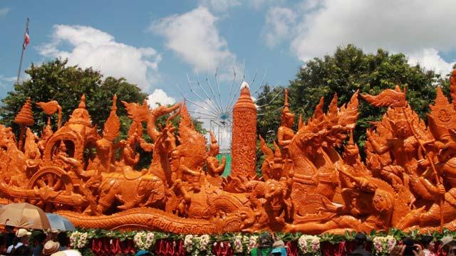 Lễ hội đèn cầy Thái Lan - Candle festival