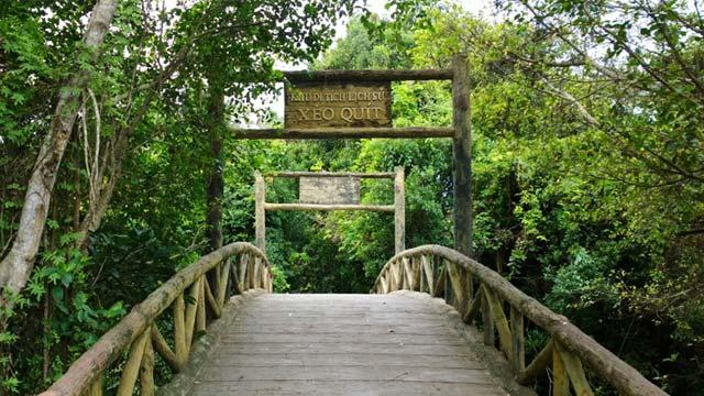 Khu di tích lịch sử Xẻo Quýt - Cholontourist