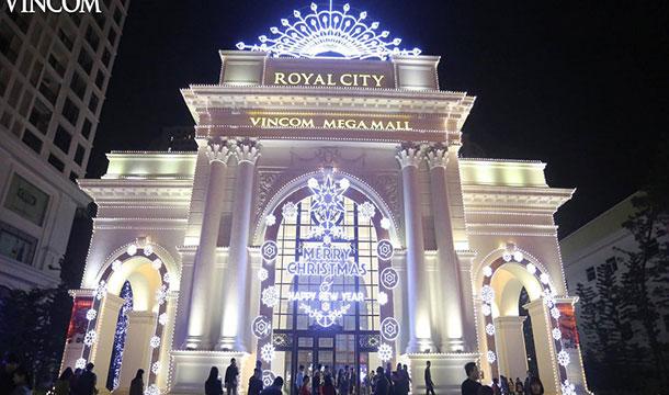 Trung tâm thương mại Vincom Mega Mall Royal City Hà Nội