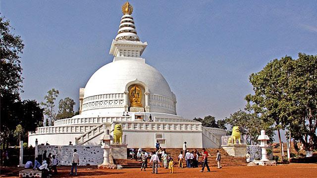 Tháp Hòa Bình Ấn Độ  - Tour du lịch Ấn Độ Cholontourist