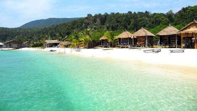 Biển Sihanoukville Campuchia - Tour du lịch Campuchia 4 ngày 3 đêm Cholontourist