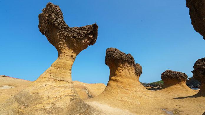 Phong cảnh Dạ Liệu Đài Loan - Tour du lịch Đài Loan 6N5Đ Cholontourist