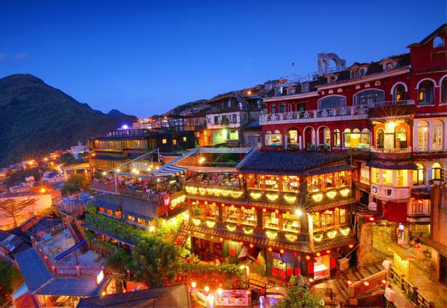 Phố cổ Thập Phần Đài Loan - Tour du lịch Đài Loan 6N5Đ Cholontourist