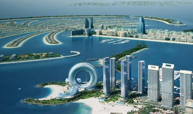 Đảo cọ Palm Island Dubai