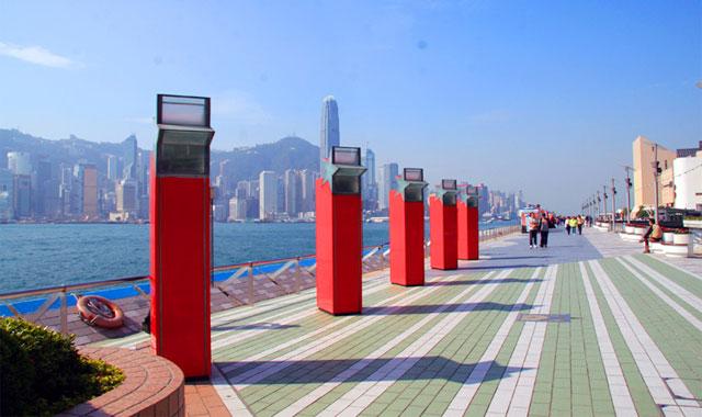 Đại lộ ngôi sao ở Hongkong