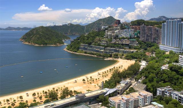 Vịnh nước cạn ở Hongkong Repulse bay