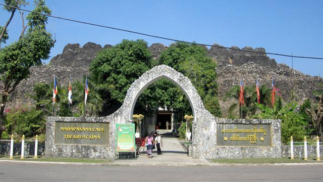 Hang động nhân tạo Maha Passana Guha Myanmar