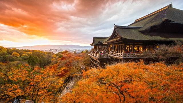 Chùa Thanh Thủy Kiyomizu Nhật Bản