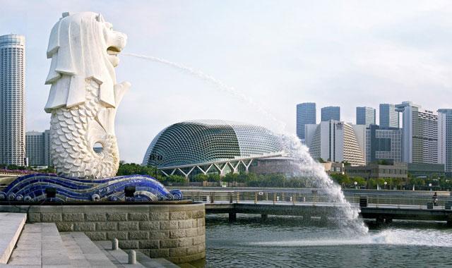 Merlion Tower Singapore