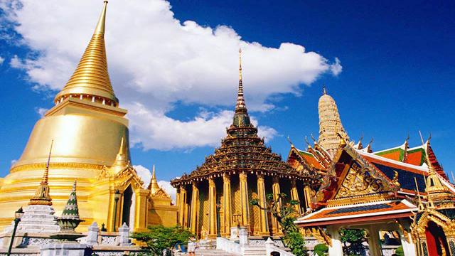 Chùa Phật vàng Thái Lan