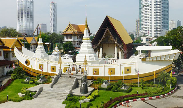 Chùa Wat Yanawa Bangkok Thái Lan