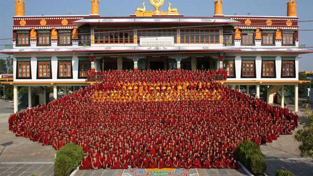 Tu viện Drepung Tây Tạng