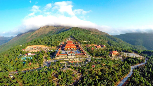 Chùa Ba Vàng Uông Bí Quảng Ninh