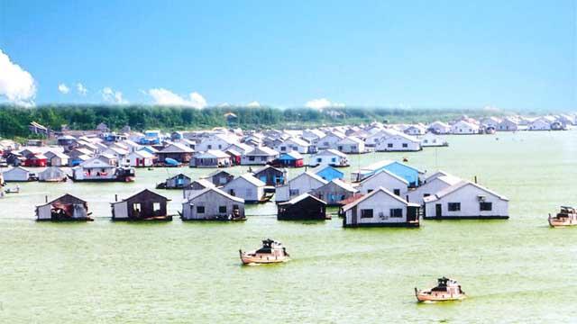Làng nổi bè cá Châu Đốc - Tour du lịch An Giang 2 ngày 1 đêm Cholontourist