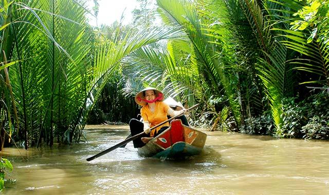 Miền tây sông nước - Cù Lao Thới Sơn - Tour du lịch miền tây 4 ngày 3 đêm Cholontourist