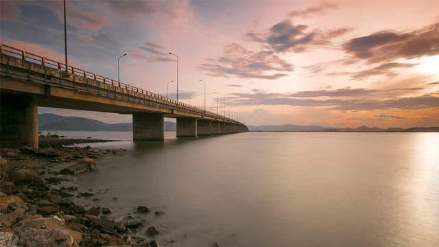 Cầu Thị Nại - Cầu Nhơn Hội Quy Nhơn Bình Định