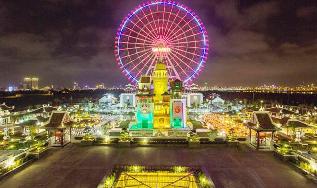 Công viên châu Á vòng quay sun wheel Đà Nẵng