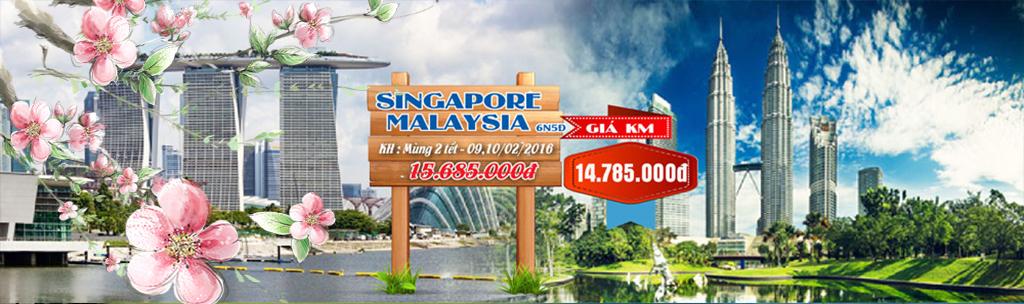 Tour du lịch Singapore - Malaysia tết 2016