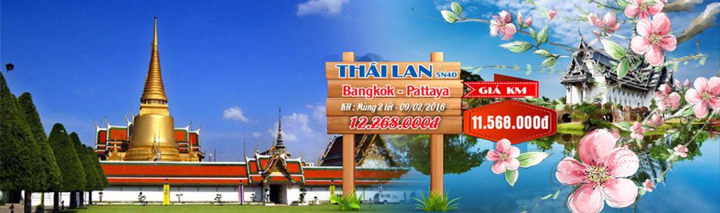 Tour du lịch Thái Lan tết 2016